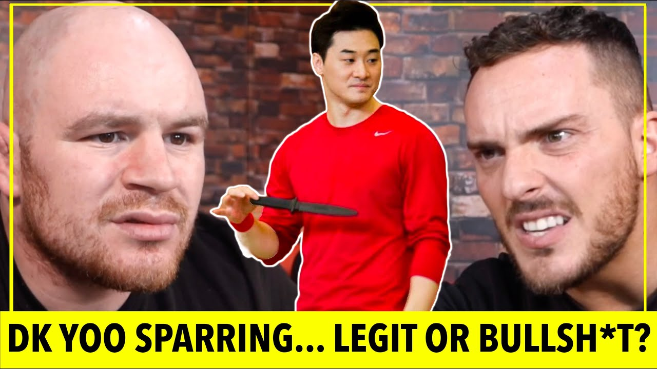 Download UFC FIGHTER vs DK YOO   TERRIBLE SPARRING REACTION   Martial Art Fails!