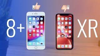 Nên mua iPhone XR không hay chọn xừ iPhone 8 Plus cho rẻ?