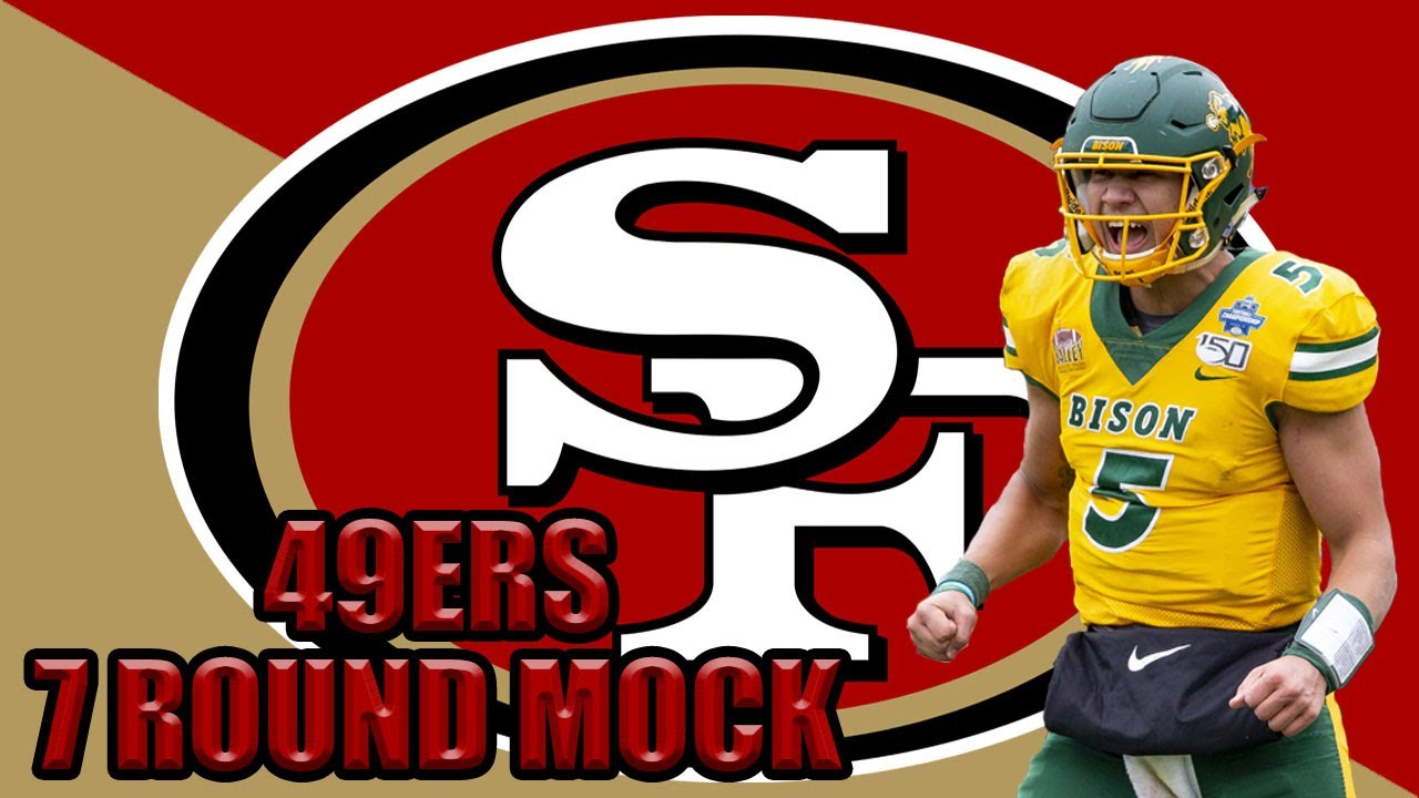 Download San Francisco 49ers 7 Round Mock Draft 2021! Trey Lance to the 49ers!