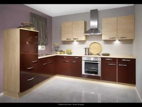 Modern Uv High Gloss Kitchen Cabinet Designs Al Habib