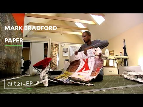 "Mark Bradford: Paper | Art21 ""Extended Play"""