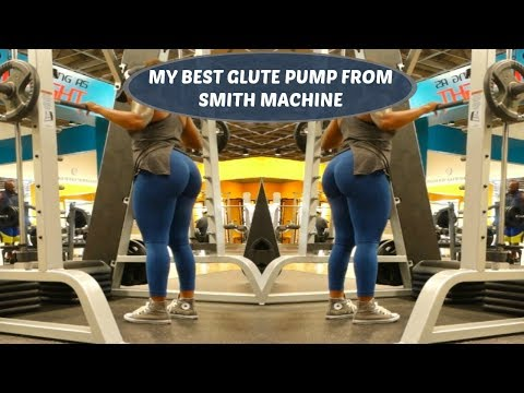 SMITH MACHINE GLUTE & HAMSTRING WORKOUT || THE CUT EP 10