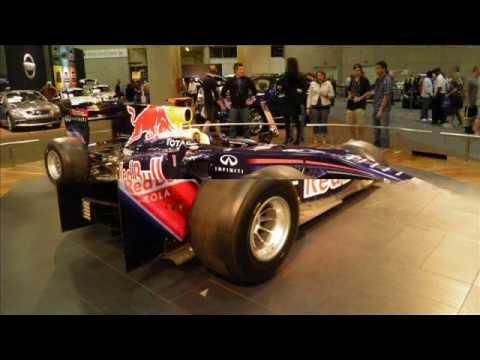RedBull F1 @ San Diego Int'l auto show 12 - 31 - 11.wmv