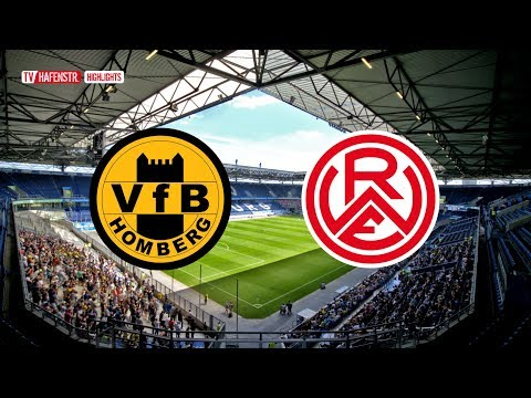 2. Spieltag: VfB Homberg - RWE (Saison 2019/2020)