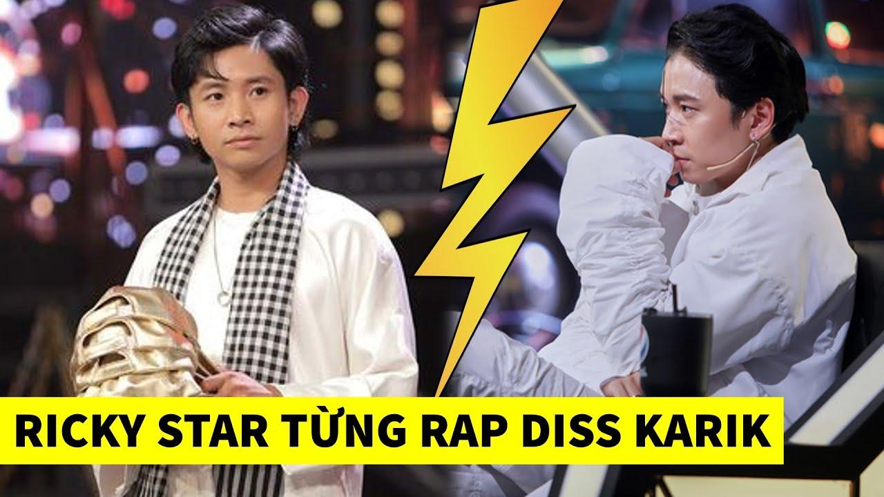 """Rap Việt: Ricky Star bị khui Clip từng Rap Diss Karik """"xếp hàng hôn lên ghế"""""""