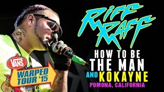 "RiFF RAFF - ""How To Be The Man"" & ""Kokayne"" LIVE! Vans Warped Tour 2015"