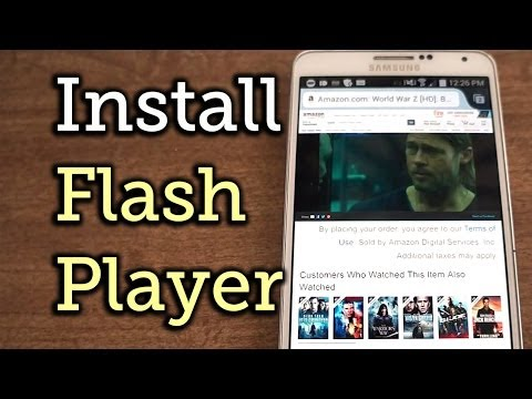 Watch Amazon Prime Instant Videos & Other Flash Player Content on Your Galaxy Note 3 [How-To]