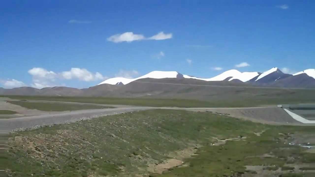 中國青藏鐵路沿路風景 - YouTube