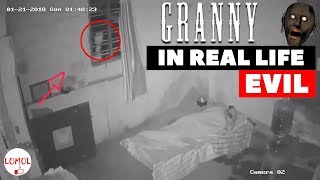 Granny Horror Game In Real Life! FUNhouse Family ⚰️❗💀ACTUALLY FILMED 👿