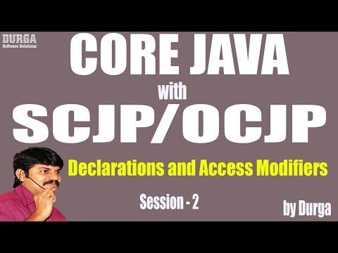 core-java-with-ocjp/scjp:-declarations-and-access-modifiers-part-2-||-import-and-static-import