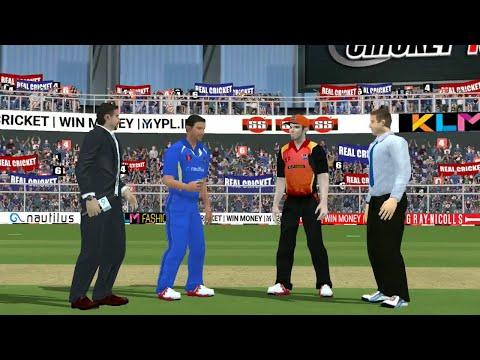 29th April IPL 11 Sunrisers Hyderabad Vs Rajasthan Royals Real cricket 2018 mobile Gameplay
