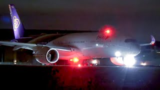 LOUD Night Departures   A380's A350 B777 B747 A330   Melbourne Airport Plane Spotting