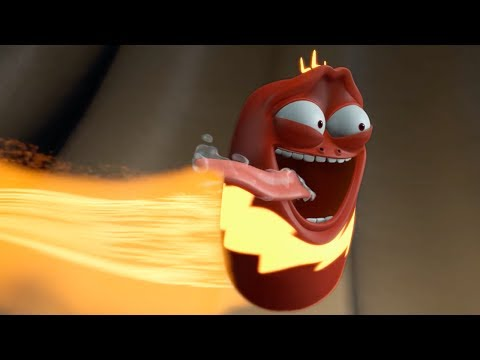 LARVA | THUNDER RED | Cartoons For Children | LARVA Full Episodes
