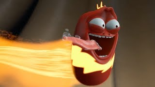 Download LARVA   THUNDER RED   Videos For Kids   LARVA Full Episodes Mp3 and Videos