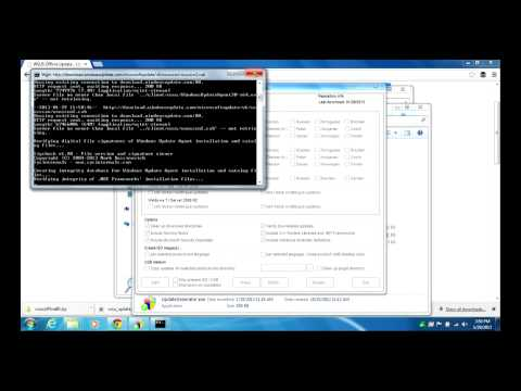 Update Windows Offline with WSUS Offline Updater