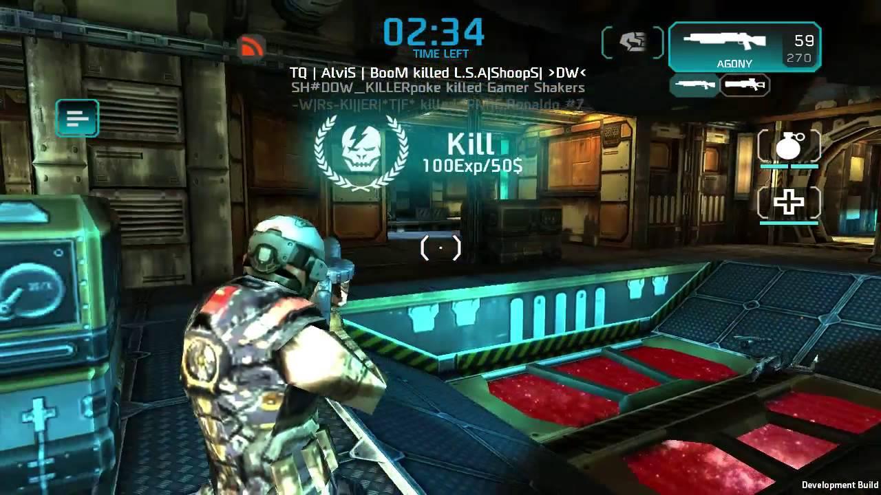 Shadowgun deadzone není připojen k dohazování