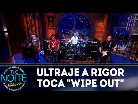 "Ultraje a Rigor toca ""Wipe Out"" | The Noite (05/04/18)"