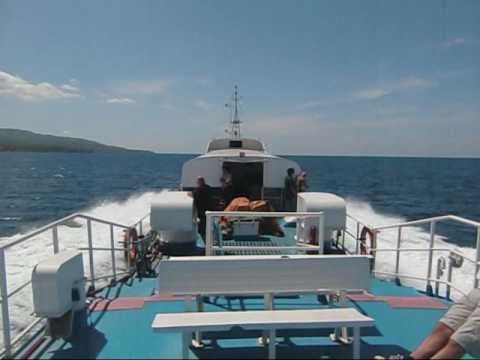 Bohol Philippines Ferry ride via weesam express - TravelOnline TV