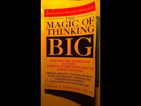 The Magic Of Thinking Big Book Review Intro | How To Live A Big Life | Inspirational & Motivational
