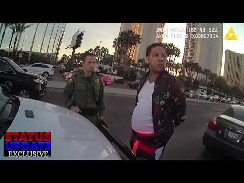 King Yella Stopped By Las Vegas Police & Denied His Rights- (Status Update Exclusive)
