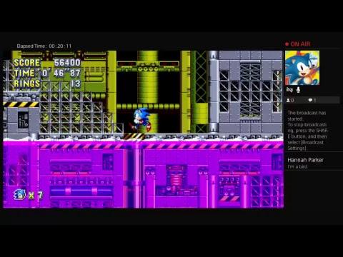 kareemymani123's Sonic Mania live stream