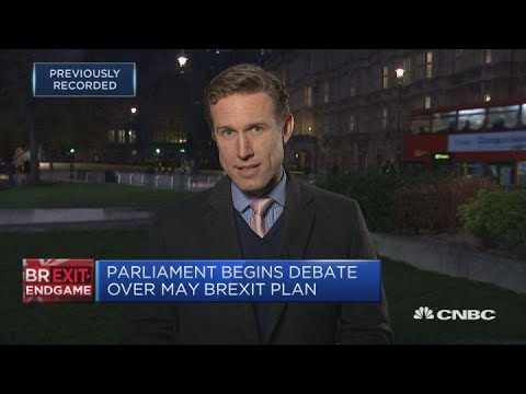 Fresh blow to May as lawmakers shorten Brexit 'Plan B' timetable   Squawk Box Europe