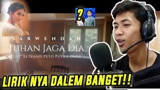 INI LAGU BUATAN BETRAND ASLI!? SARWENDAH - TUHAN JAGA DIA ( OFFICIAL MUSIC VIDEO ) - Reaction