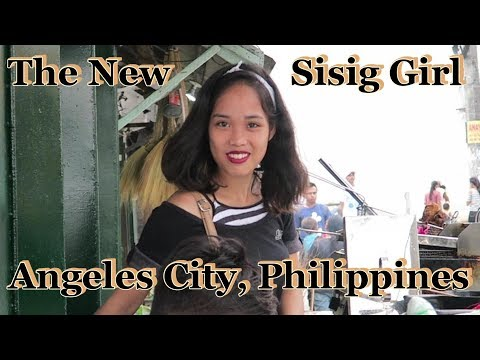 Meet The New Sisig Girl : Angeles City, Philippines