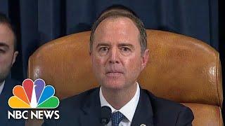 Rep. Adam Schiff Comes Down On Republicans In Closing Statement | NBC News
