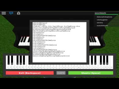 River Flows In You Roblox Piano Youtube