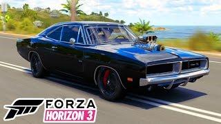 FORZA HORIZON 3 - DODGE CHARGER TUNADO MONSTRO!!! #29