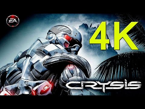 The Original Crysis Being Played In Native 4K Resolution (PC)