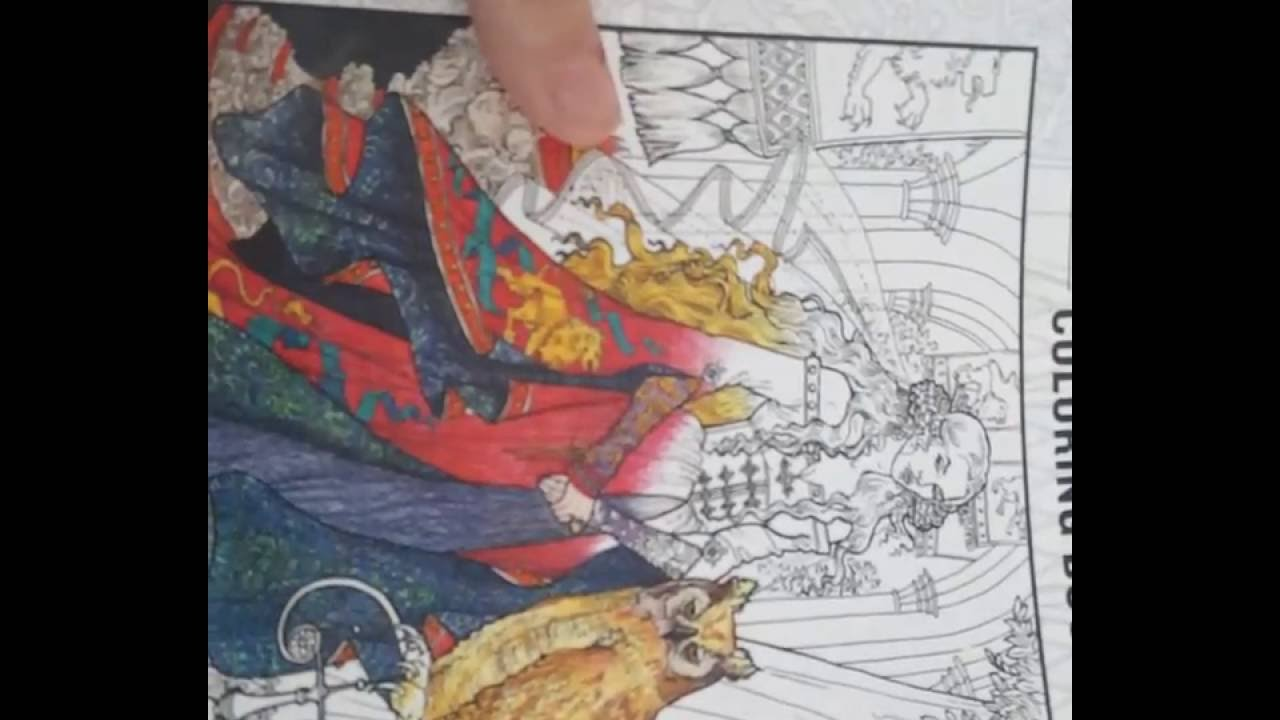 Lets Take A PeekThe Official Game Of Thrones Coloring Book