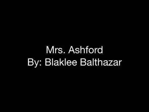 Mrs. Ashford