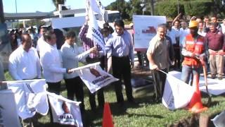 Banderazo Obras Remodelación Aeropueto Mazatlán 2014