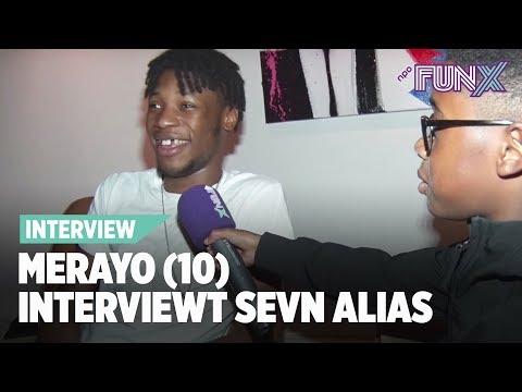 10-jarige Merayo interviewt Sevn Alias: ''Wil jij eigenlijk kinderen?''