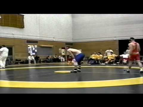 2002 Dual Meet: 76 kg David Kooperberg (UofC) vs. Tim Bayley (UofA)