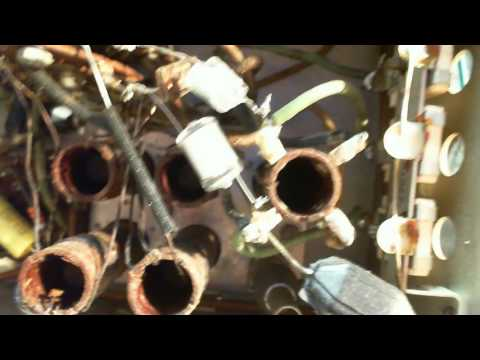 Canadian General Electric KL-96 Video#10 - More Capacitors & Band Checking