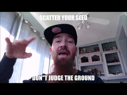 """Christian Rap - Matt Bold - """"Don't Judge The Ground"""" Scatter Your Seed(@ChristianRapz)"""