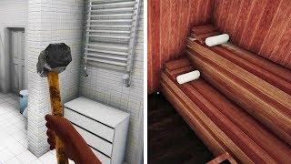 House Flipper - Part 12 - CRAZY BATHROOM REMODEL (SAUNA)