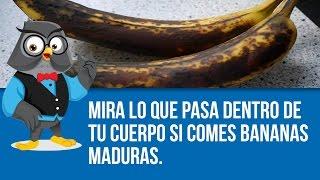 Mira Lo Que Pasa Dentro De Tu Cuerpo Si Comes Bananas Maduras