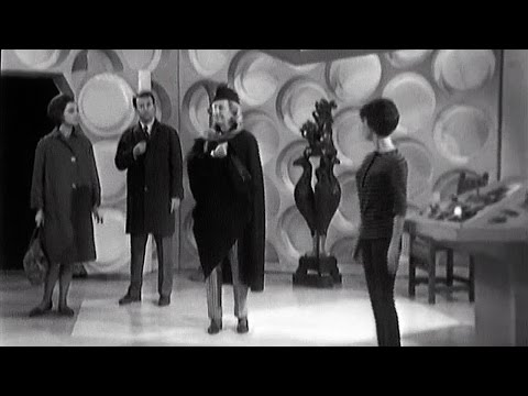 First Doctor Enters the TARDIS | An Unearthly Child | Doctor Who