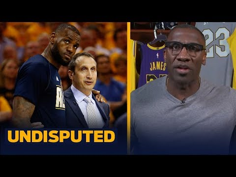 Former Cavs HC David Blatt is using MJ doc to take shots at LeBron — Shannon   NBA   UNDISPUTED