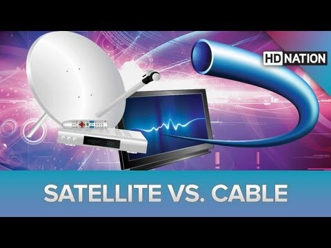 cable vs satellite Moving cable or satellite for your new home - which is the better option learn more about the differences between cable tv and satellite tv.