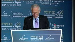 Prof. Stanley Fischer, Governor, Bank of Israel Speaking at the Herzliya Conference 2011