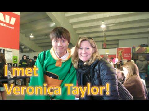Wellington Armageddon Expo 2015 | Meeting Veronica Taylor + Other Voice Actors [masterbrendan]