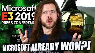 Did Microsoft just WIN E3 2019 ALREADY?!