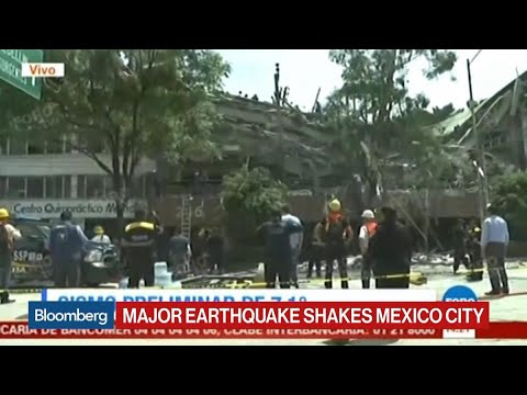 Mexico City Rocked by 7.2 Magnitude Quake