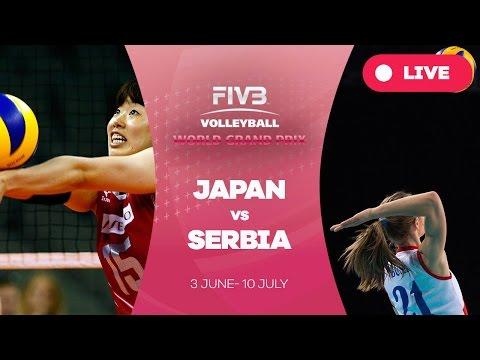 Japan v Serbia - Group 1: 2016 FIVB Volleyball World Grand Prix