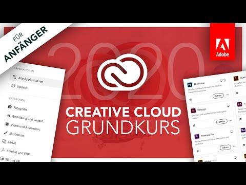Adobe Creative Cloud (Grundkurs 2020) Alles Was Du Wissen Musst // Tutorial Für Anfänger (Deutsch)